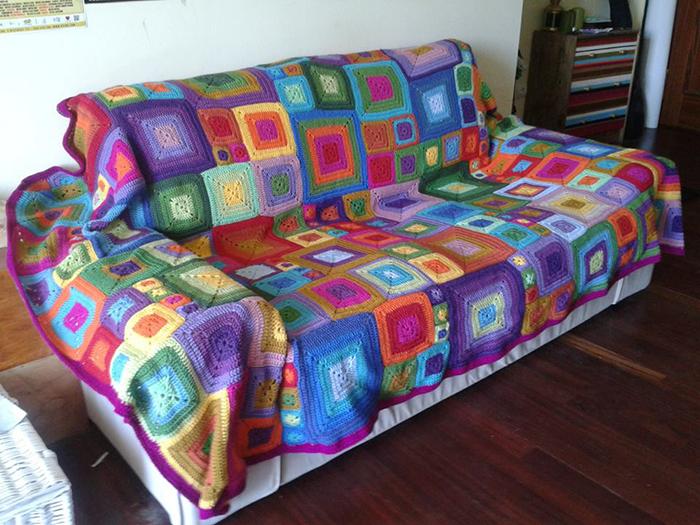 Cuadros Para Colchas De Crochet Google Search Colchas Crochet