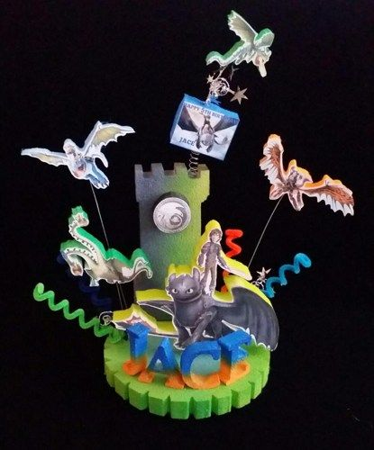 How to train your dragon 2 birthday cake topper ccuart Gallery