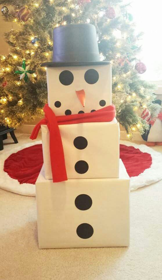 Wrap It Like A Snowman Christmas Wrapping Diy Snowman Gifts Christmas Gifts For Kids