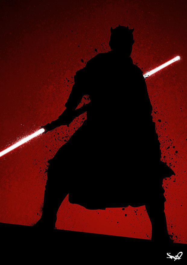 Shadow Of Darth Maul by Sno2