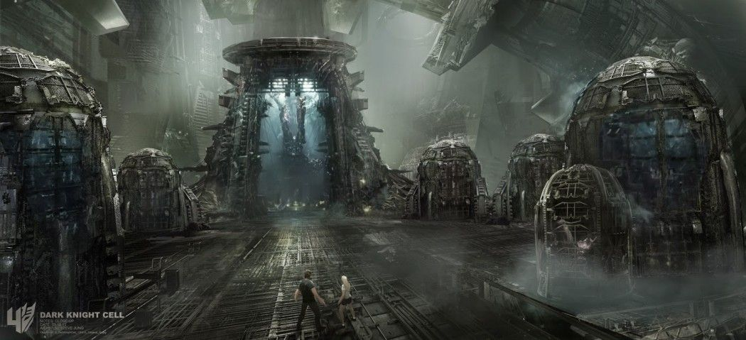 Transformers Age Of Extinction Concept Art By Steve Jung