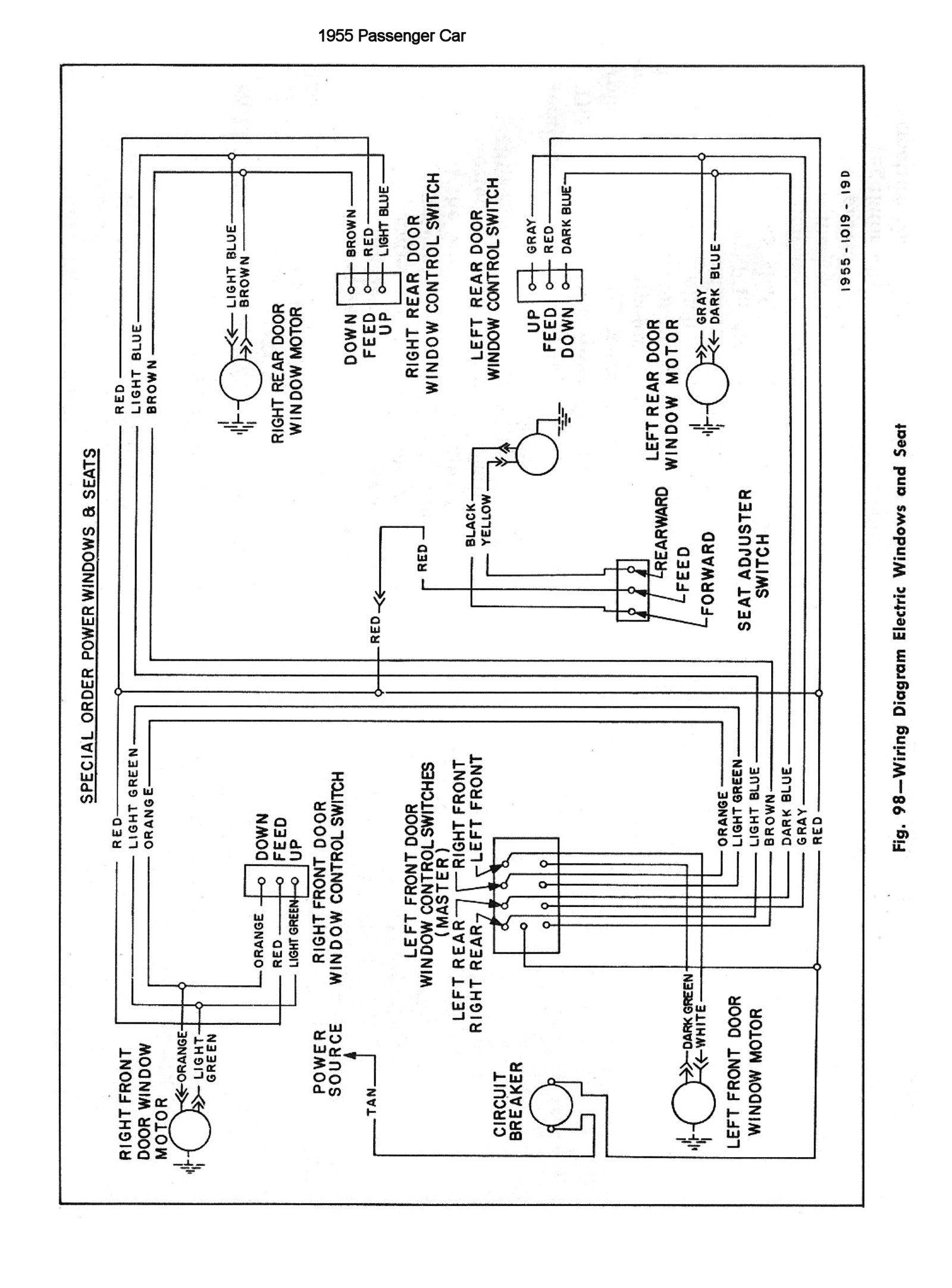 1955 Chevy Wiring Diagram 2001 Dodge Dakota Infinity Sound System Electrical Junction Box With Posts Including Fuse Panel55 Door Jam