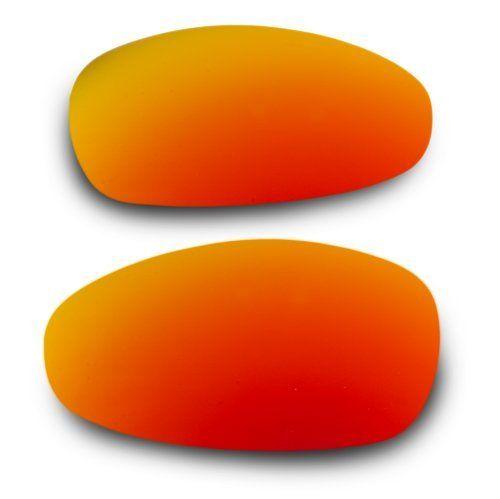 b737833301 EyeKon Lenses for Oakley Juliet Metallic Blaze (Fire Iridium) Polarized  Replacement Lenses (Custom