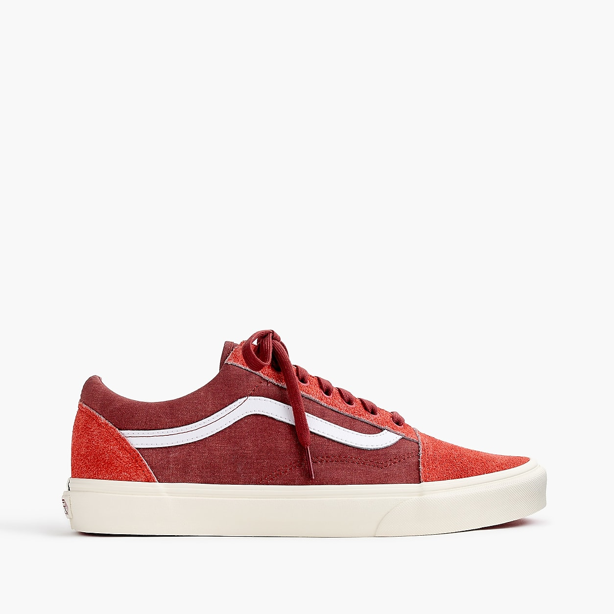 b1c086314eb4f2 Vans For J.Crew Old Skool Sneakers In Washed Canvas