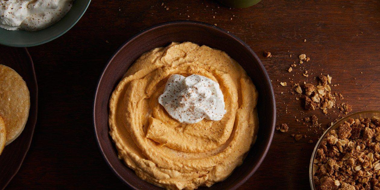 White Chocolate Pumpkin Mousse  recipe | Epicurious.com