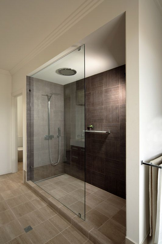 Frameless Glass Shower Screen For My Large Dual Shower (very Similar Layout)