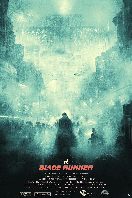 Blade Runner 2049 NYCC Rare Movie Print Matt Ferguson