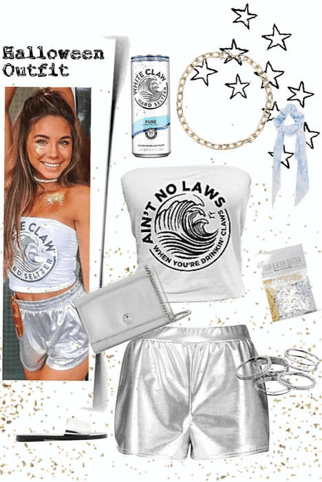 White Claw Halloween Costume Outfit White Claw Hal