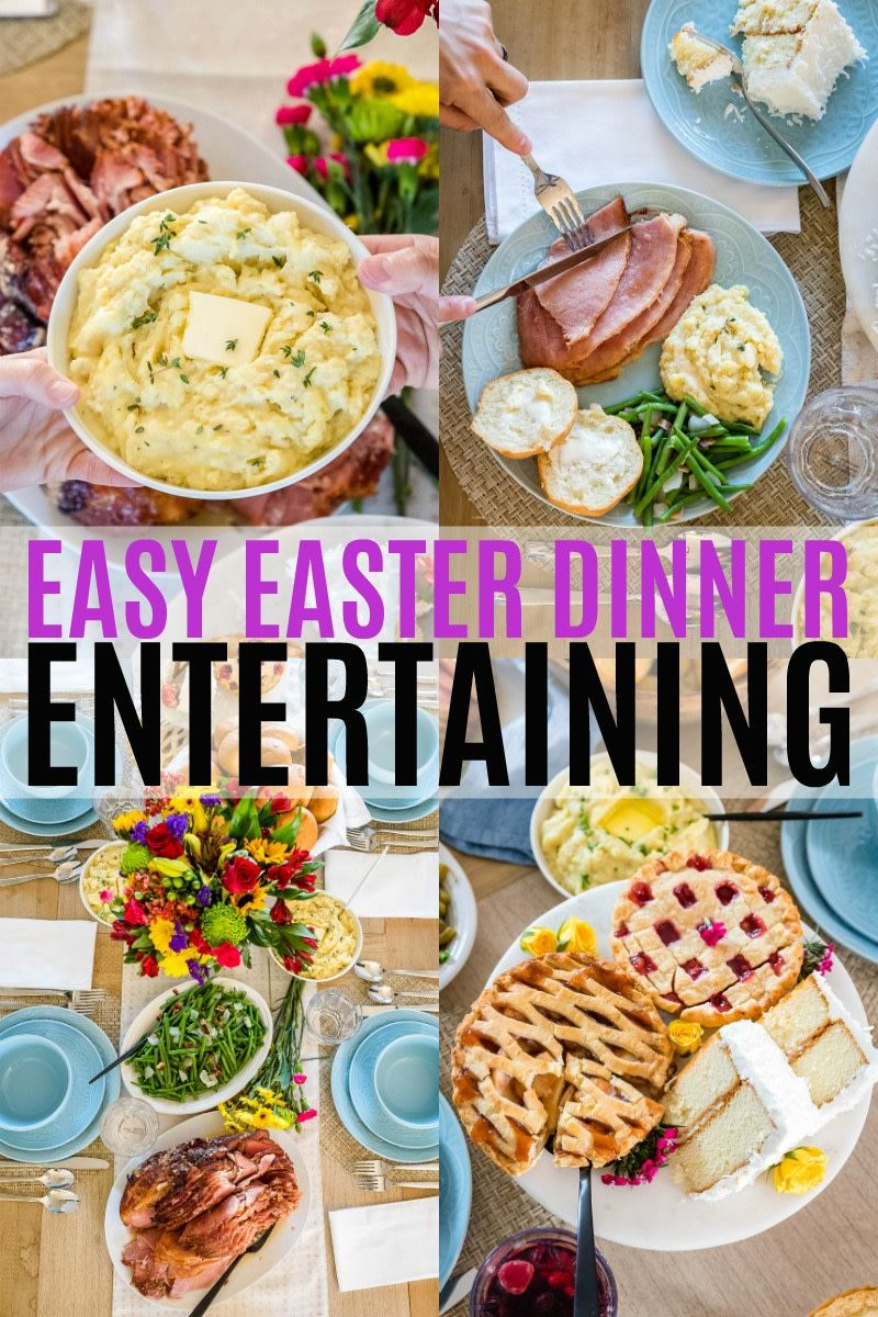 Hosting Easter Dinner Is A Breeze With Sam S Club This Low Prep Budget Friendly Holiday Meal Will Leave Your Famil Easy Easter Dinner Dinner Dinner Meal Prep