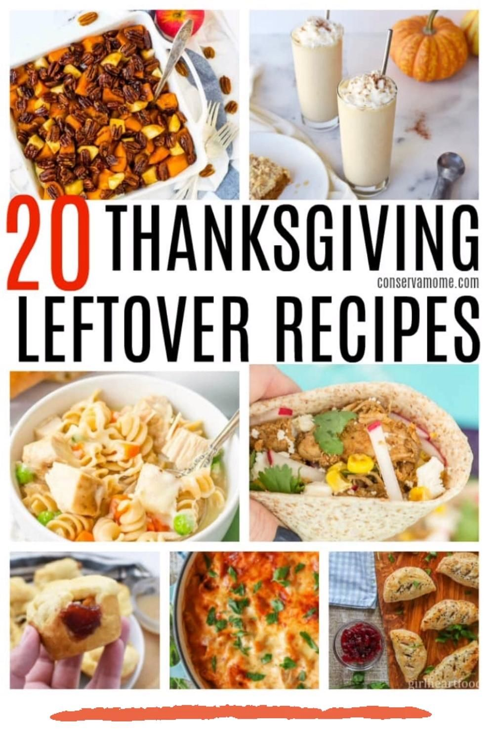 20 Easy And Delicious Thanksgiving Leftover Recipes Video Video In 2020 Thanksgiving Leftover Recipes Leftovers Recipes Thanksgiving Recipes