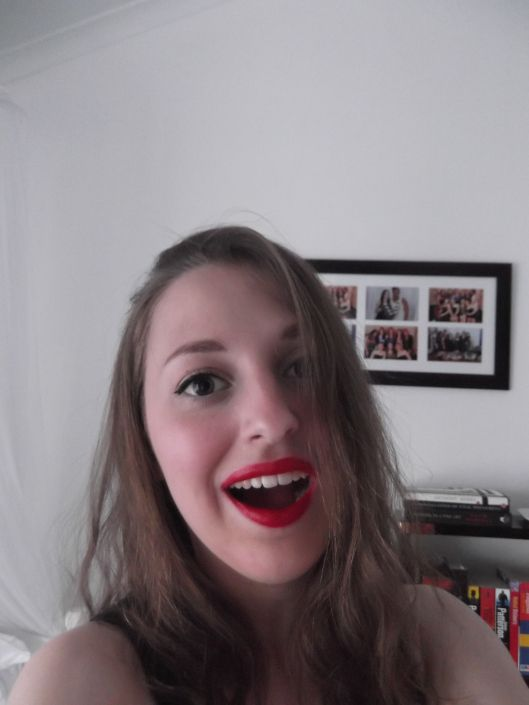 Red Lipped Make-up Look