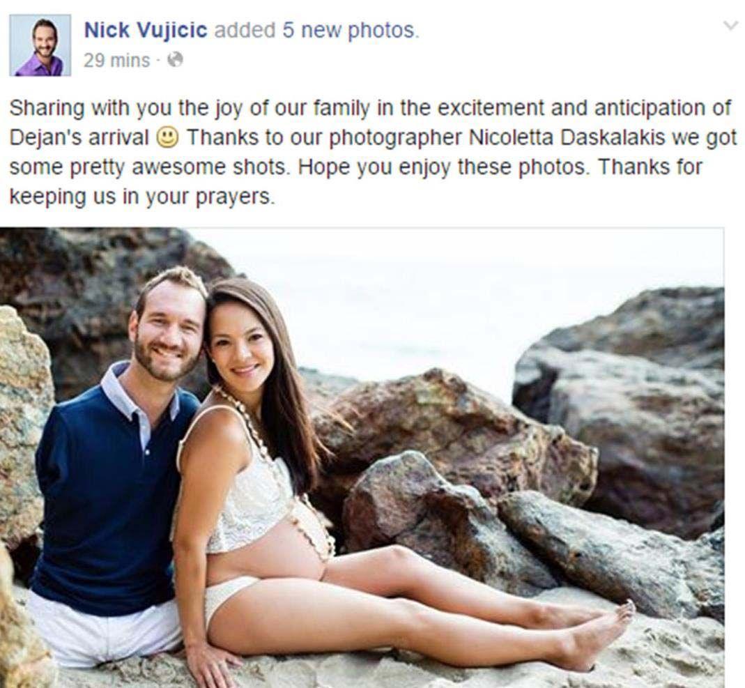 Vujicic wife nick Nick Vujicic