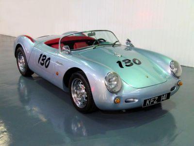 Porsche 356 1 9 Spyder Beck 550 Convertible Replica Lhd James Dean Only 9000 Miles Sports Petrol Silverporsche