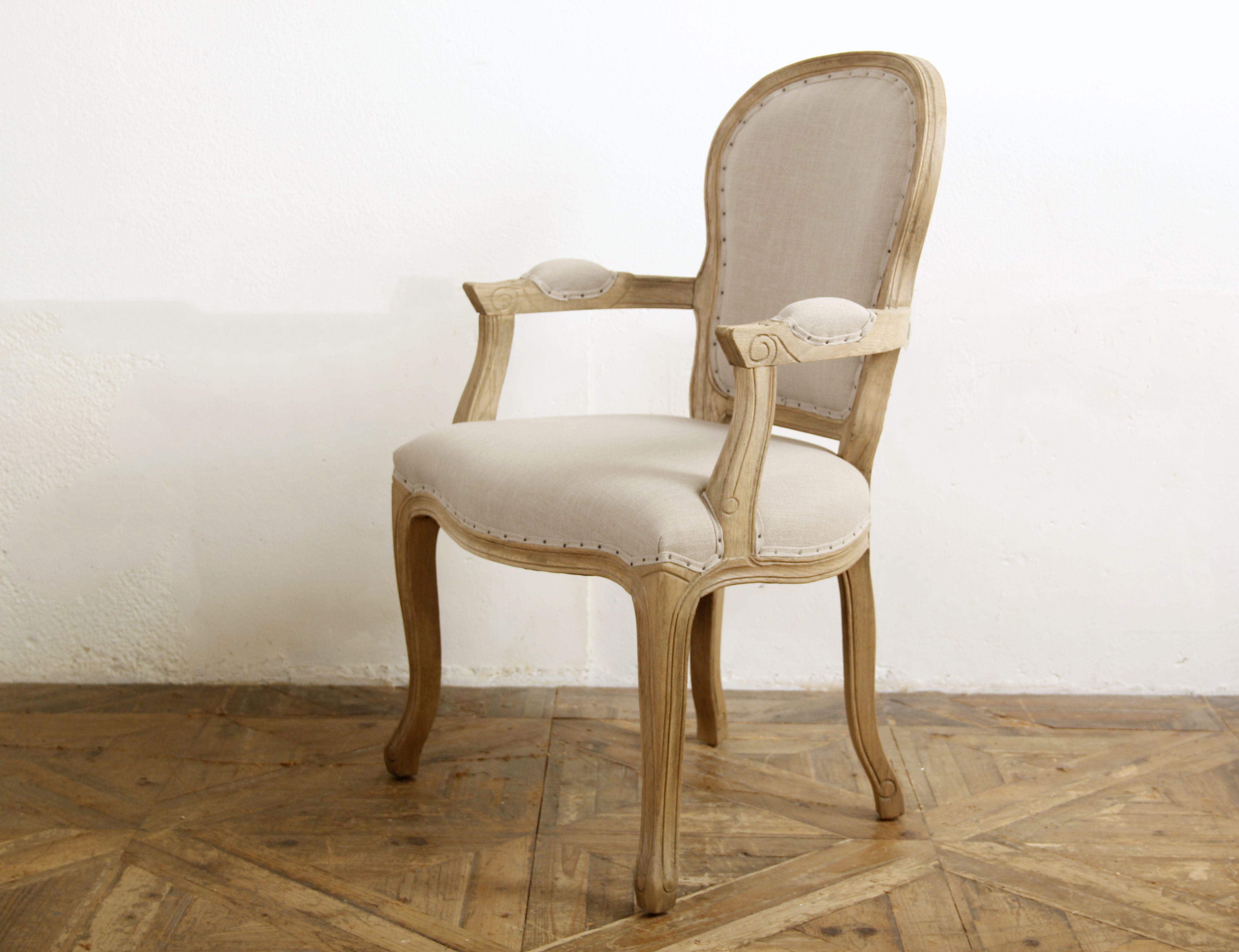 Fauteuil LOUIS XV Clouté Beige inspi fauteuils Pinterest