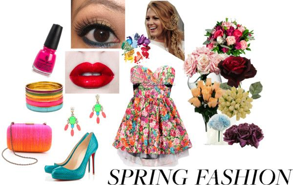 """Pops of color: Spring Fashion"" by classyinpink on Polyvore"