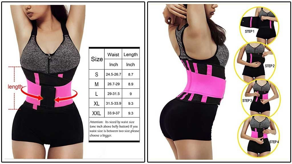 c1cf35dfc3 Make yourself a tough diva with the best waist trainer for women and this  Otioiti Womens