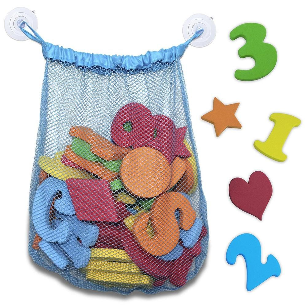 Foam Bath Letters and Numbers With Shapes Included Educational Toys ...