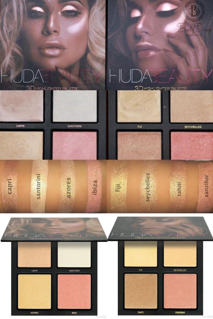 huda beauty palette 3d