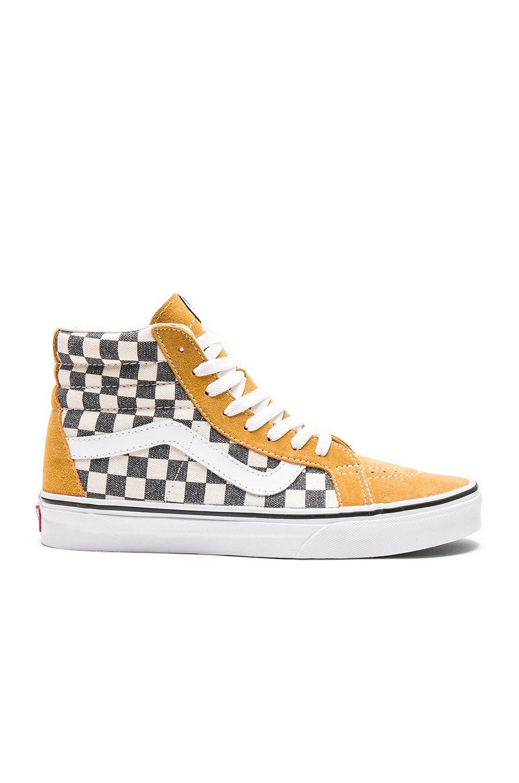 85c202198a VANS Sk8-Hi Reissue Checkerboard.  vans  shoes  checkerboard More