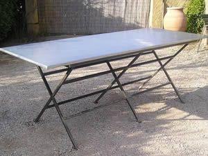 idée table de jardinage zinc par création autour du zinc ...