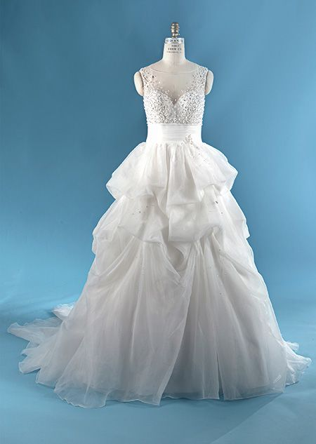 The Sleeping Beauty wedding gown from the Alfred Angelo Bridal ...