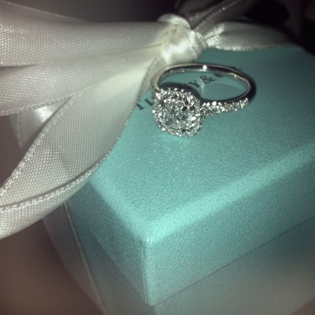 Fresh Tiffany Grace diamond engagement ring with a matching wedding band TiffanyPinterest OH MY GOD
