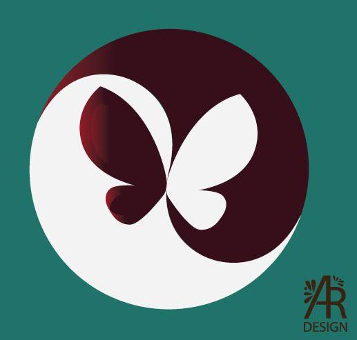 Cultural Butterfly Ying Yang Art Yin Yang Art Rock Painting Designs