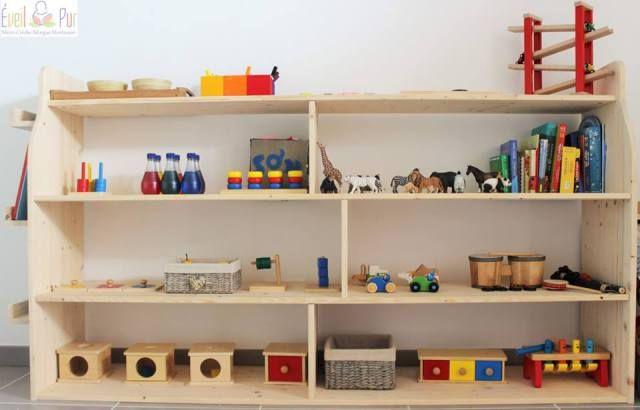 etagere-montessori-01 … | etagére | Pinterest | Montessori ...