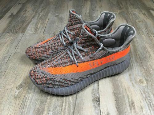 size 40 519c1 c80d5 2018 Spring Summer Adidas Yeezy Boost 350 V2 Kanye West Shoes BELUGA BB1826  Dark Grey Orange