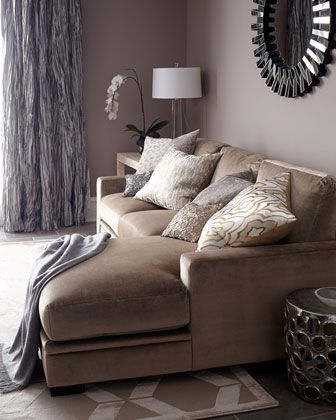 Celia Couture Sectional Sofa Furniture Goods Beige
