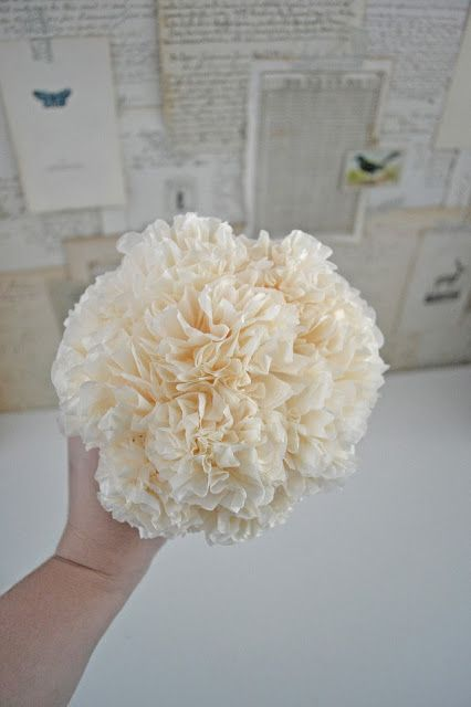 Liz mathews handmade tissue paper flowers diy winter wedding handmade tissue paper flowers diy winter wedding flowers video tutorial mightylinksfo
