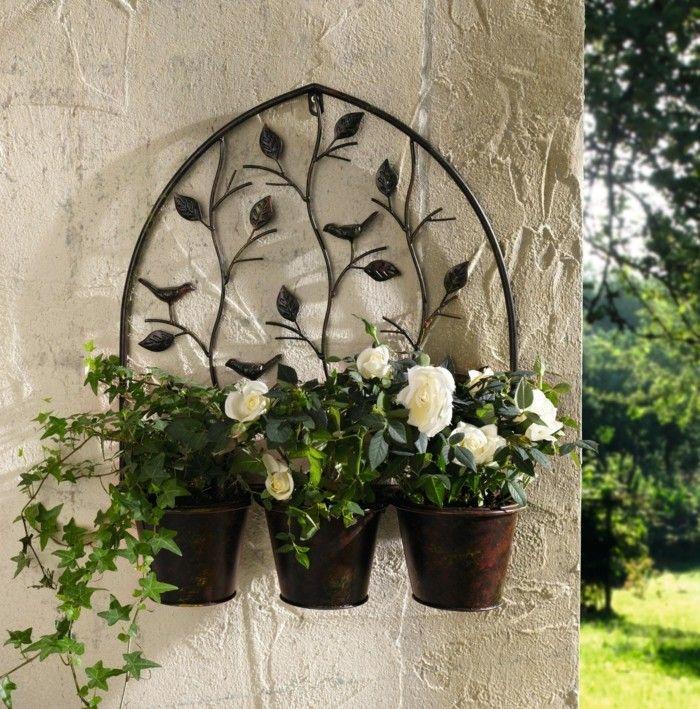 Adornos jardin e ideas originales en 100 im genes for Decoracion exterior de casas