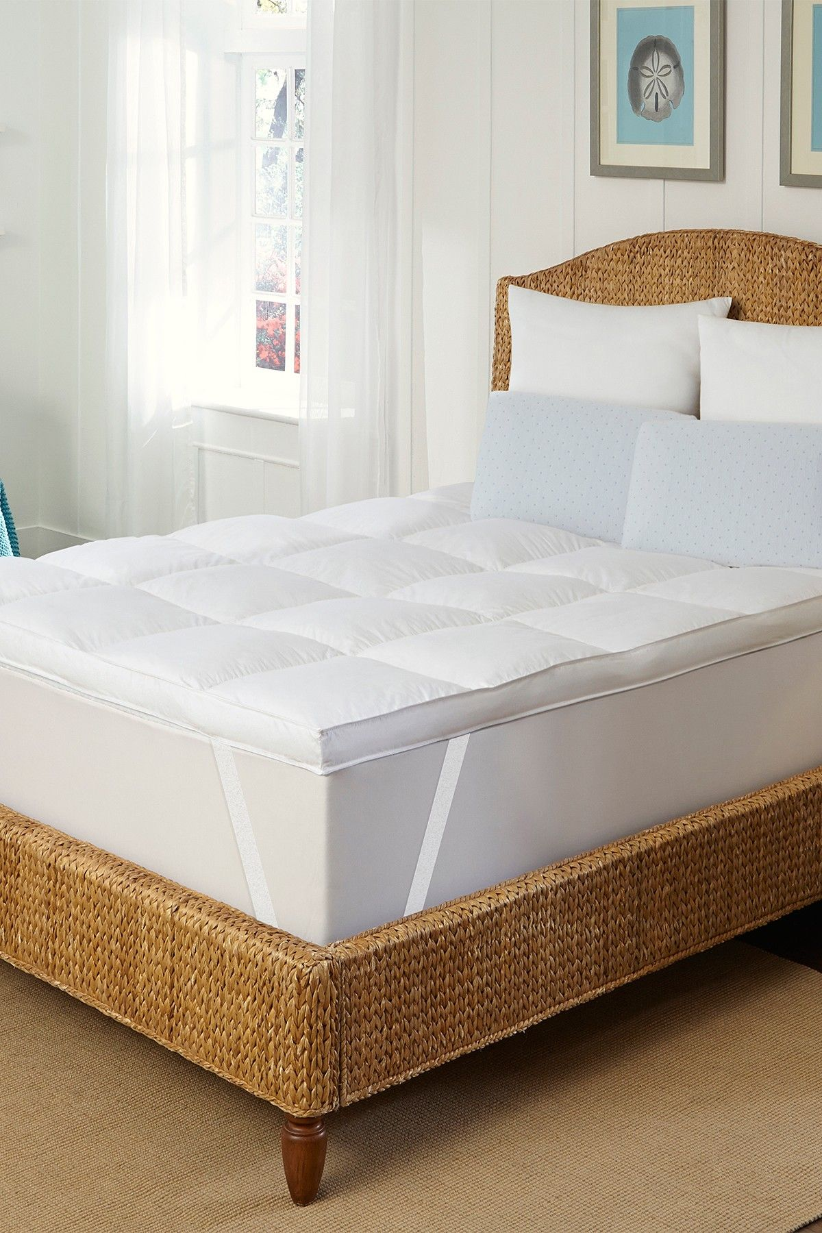rio home dream cloud down like top featherbed white home design