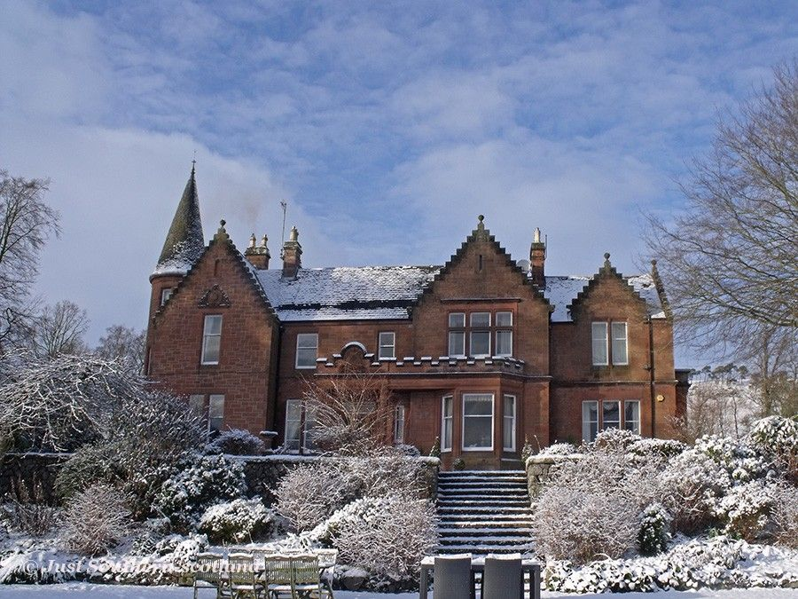 Biggar House, luxury vacation rental, Scottish borders ...