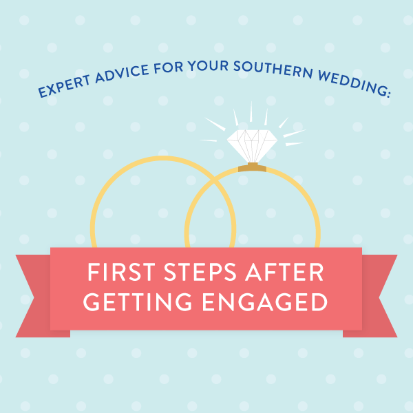 Southern Weddings: First Steps After Getting Engaged | SouthernLiving.com @Liz Mester Mester Mester Mester Hammer