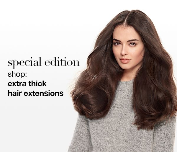 Special Edition Extra Thick Quad Weft Hair Extensions Carcinogenic