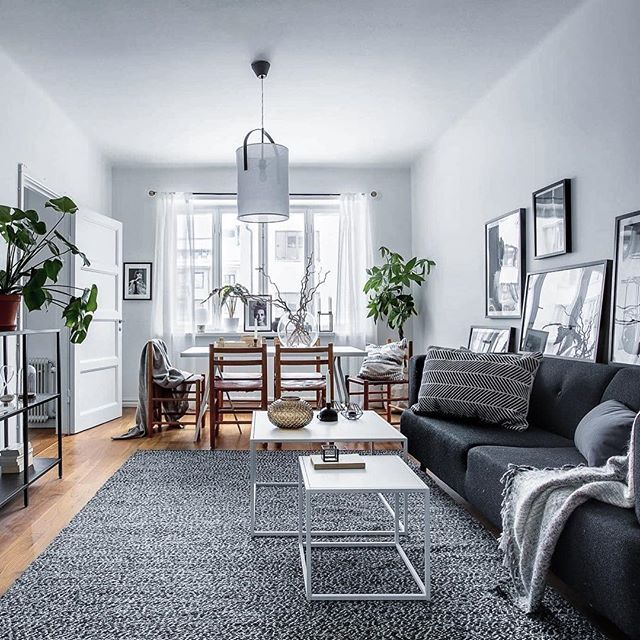 Scandinavian Interior Apartment With Mix Of Gray Tones: Celsiusgatan 8. Styling @scandinavianhomes Photo @mccann