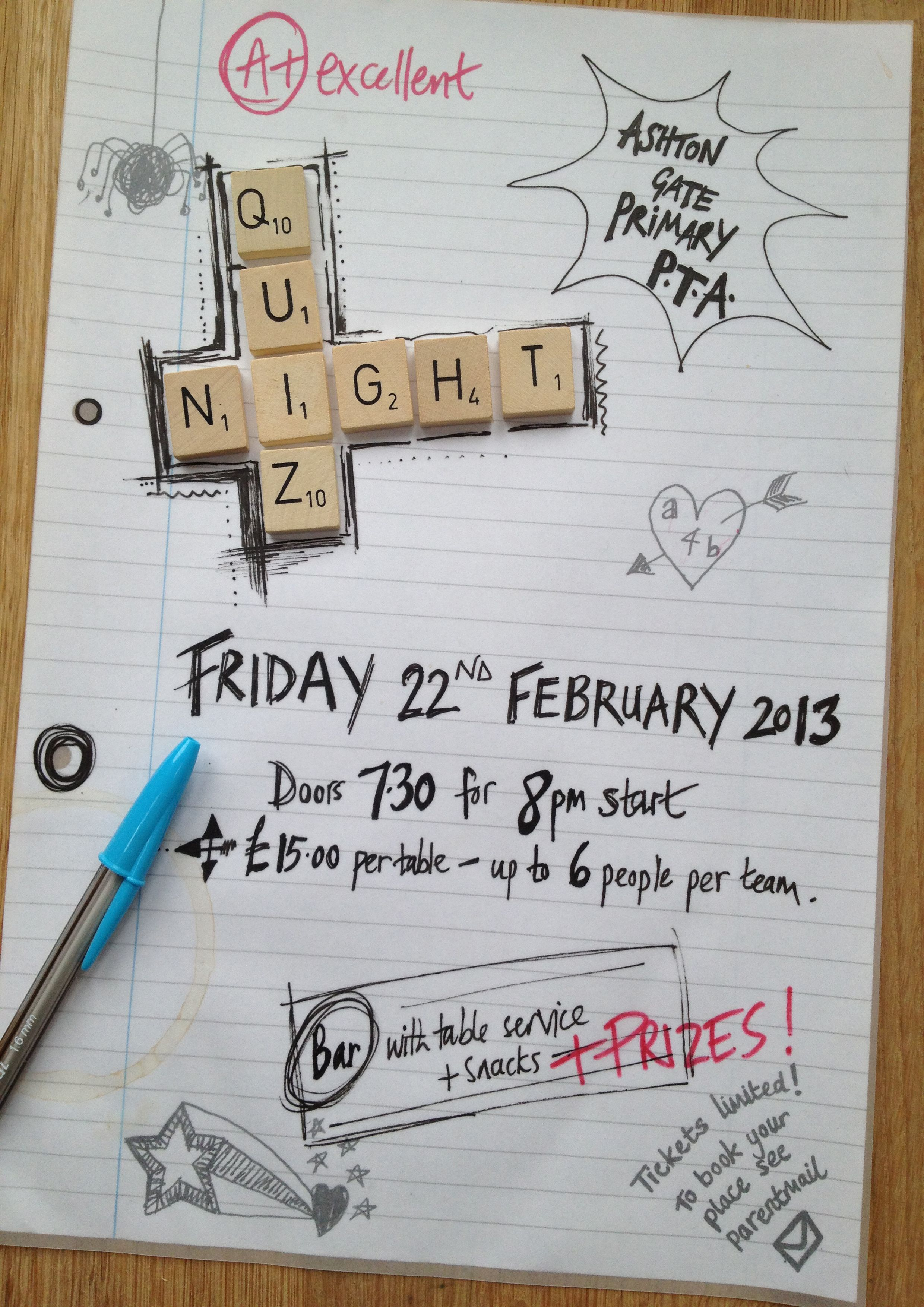 pta quiz night poster - Google Search | fest | Pinterest | Pta ...