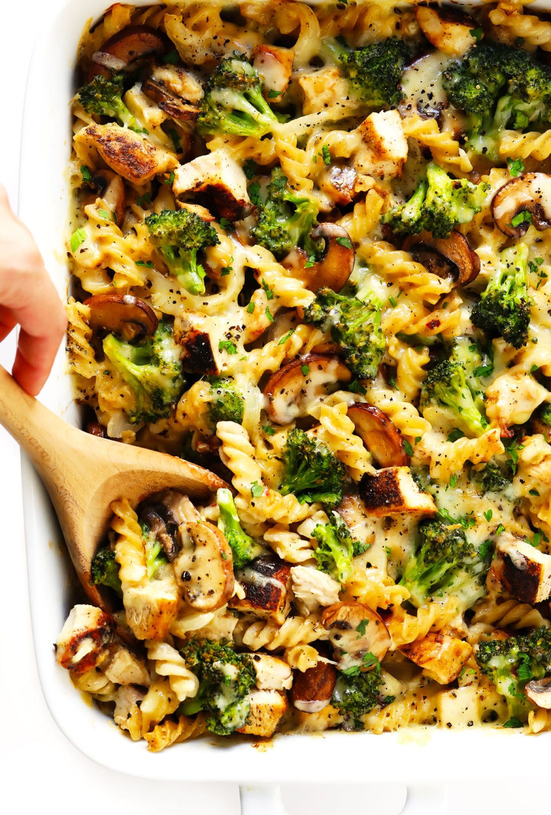 Healthier Broccoli Chicken Casserole Recipe Gimme Some Oven Recipe Chicken Recipes Casserole Healthy Dinner Healthy Recipes