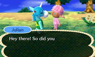 Julian is on my DREAM VILLAGER WISHLIST :] <3 <3 <3 #unicorn #dreamvillager #mine