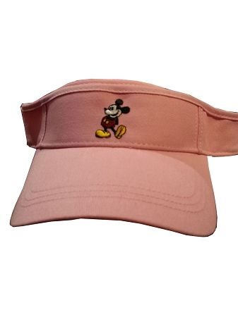 3907db7ce8fce0 Disney Sun Visor Hat - Mickey Mouse Standing - Pink in 2019 | SHOES ...