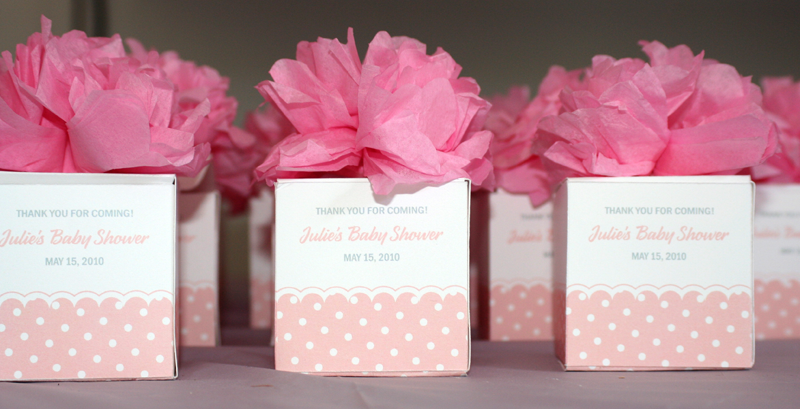 Baby Shower Favors To Make For A Girl ~ Baby shower favors julie s girl event
