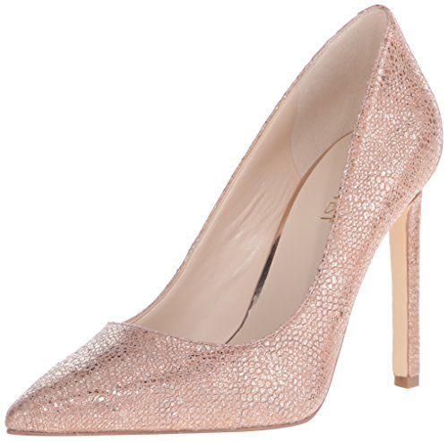 68bb12baa6 $80 Nine West Women's Tatiana Leather Dress Pump, Rose Gold Pumps ...