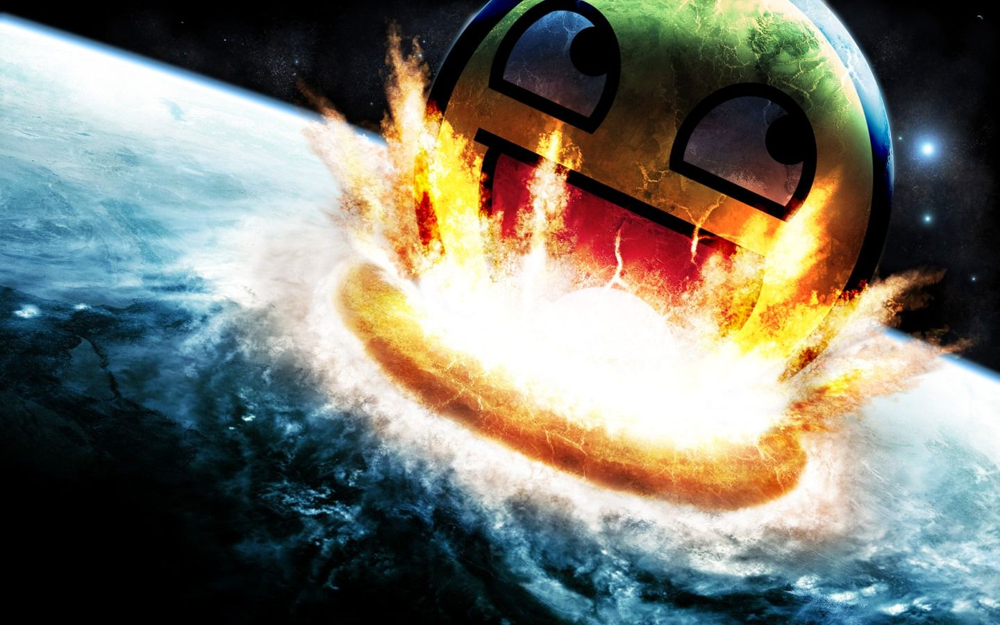 Download Smiley Epic Free Wallpaper 1440x900 Full HD