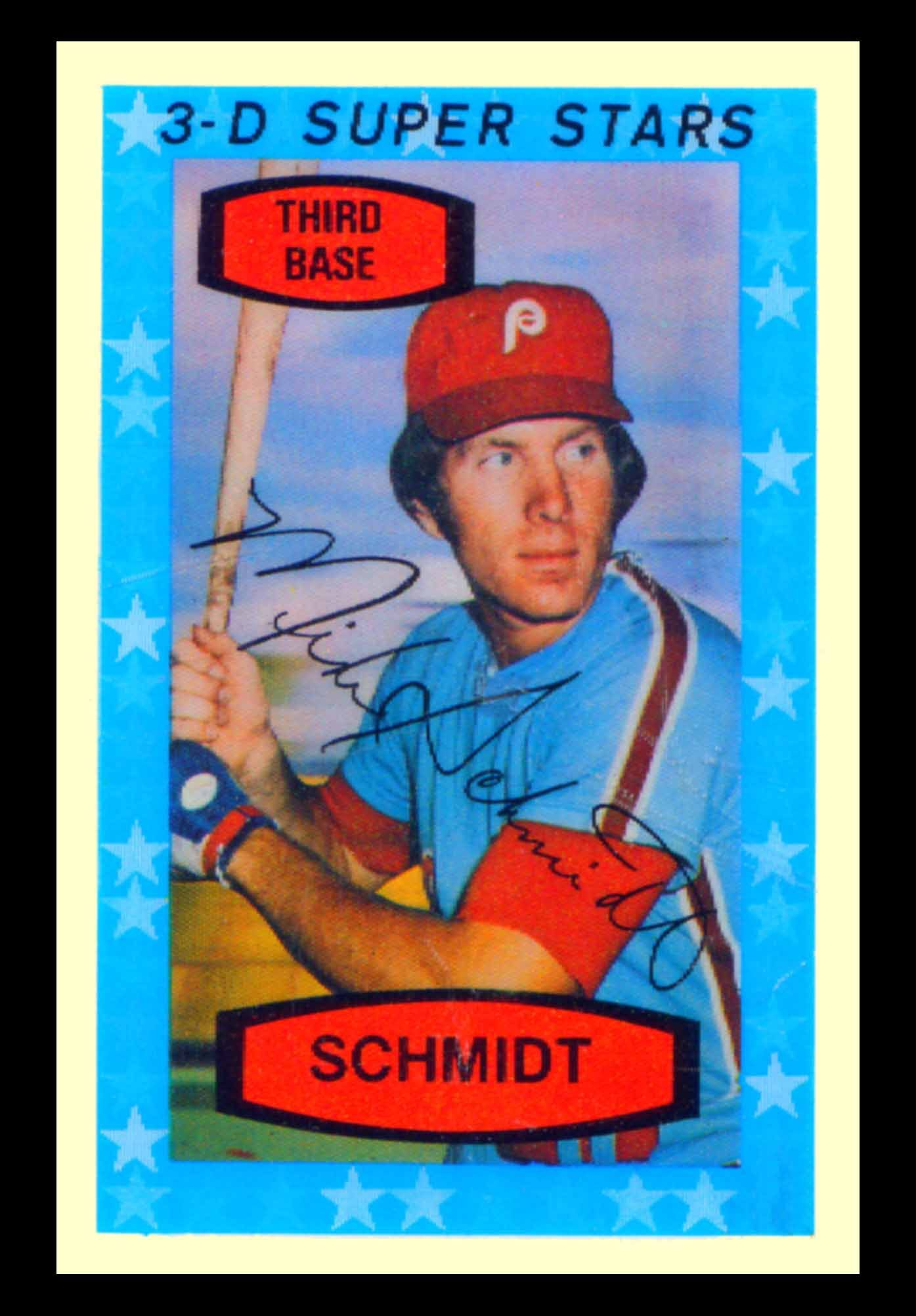 Mike Schmidt 1976 Hostess Baseball Cards 1975 Kelloggs 3