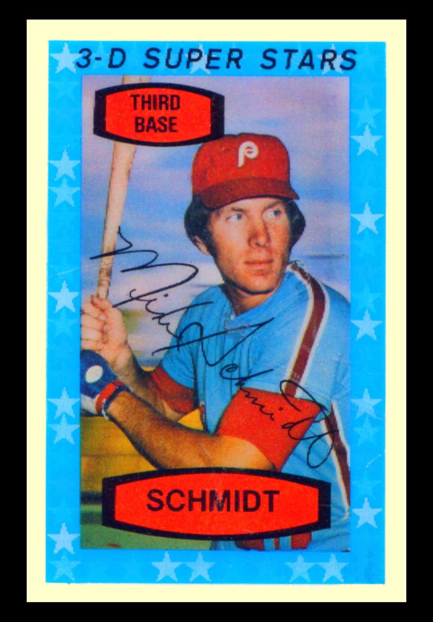 Mike Schmidt 1976 Hostess Baseball Cards 1975 Kelloggs 3