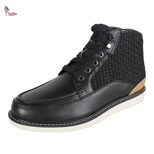 Timberland Newmarket Leather VA A17AE Boot black, Schuhe Herren:45 -  Chaussures timberland (