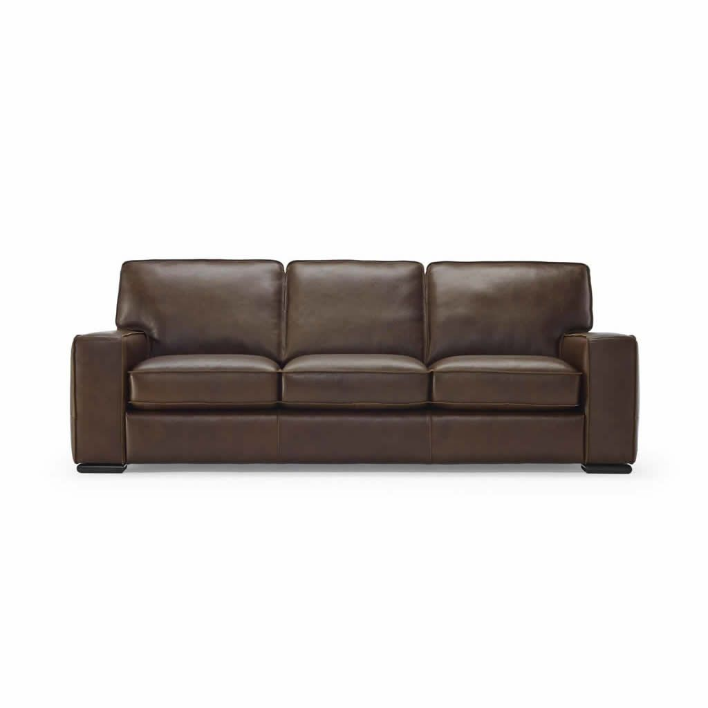 This Stunning Natuzzi Leather Sofa Is A High End Natural Italian