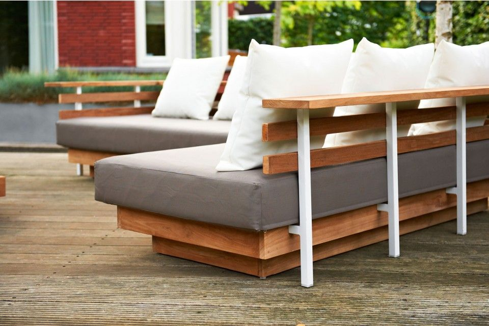 Life london lounge set loungebank garden furniture tuinset