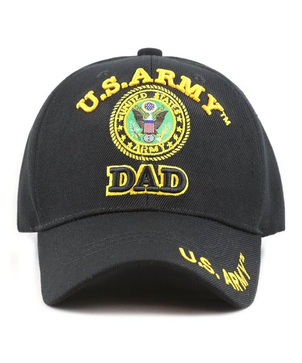 1100 Official Licensed U.S Military Dad Cap (Army) CE12F7C2HIF in ... 9c562fcf7a42